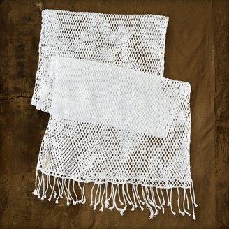 Denim & Supply Ralph Lauren Open-Weave Fringed Scarf