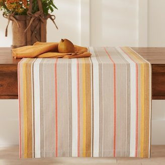 Williams-Sonoma Herringbone Striped Table Runner