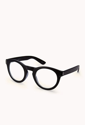 Forever 21 F1821 Round Metallic-Trimmed Readers