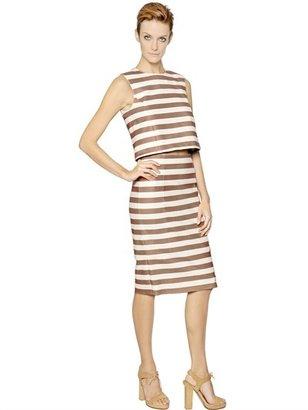 Drome Striped Nappa Leather Top