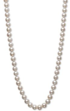 "Belle de Mer Aa+ 24"" Cultured Freshwater Pearl Strand Necklace (7-1/2-8-1/2mm) in 14k Gold"