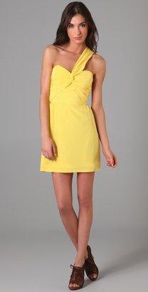 Mara Hoffman Twist One Shoulder Dress