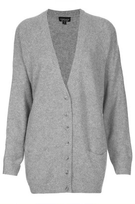 Topshop Knitted Moss Stitch Cardi