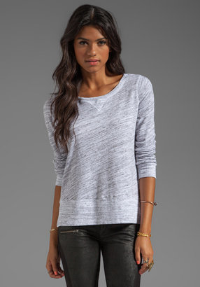 Splendid Space-Dyed Heather Active Pullover