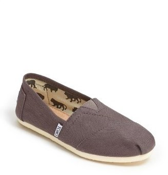 Women's Toms 'Classic' Canvas Slip-On $47.95 thestylecure.com