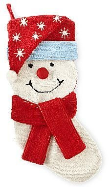 JCPenney Snowman Christmas Stocking