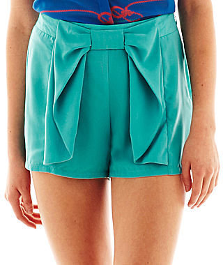 Nanette Lepore L AMOUR BY L'Amour Bow Shorts