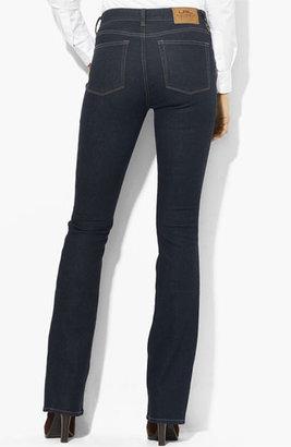 Lauren Ralph Lauren Slimming Bootcut Jeans (Petite) (Online Only)