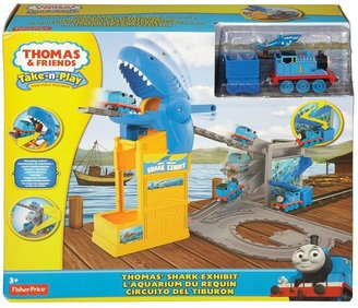 Thomas & Friends thomas the tank engine shark exhibit playset by fisher-price