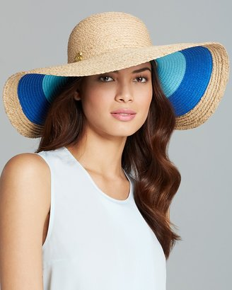 Jonathan Adler Colorblock Stripe Floppy Hat