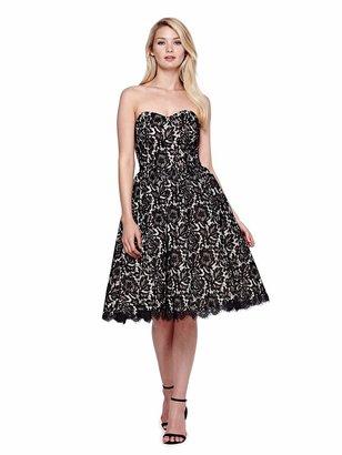 Yumi Lace Prom Dress Black