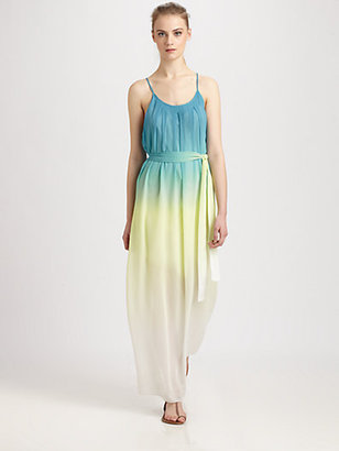 Autograph Addison Ashland Ombre Maxi Dress