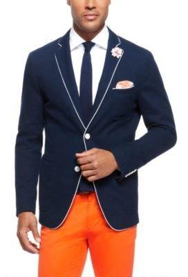 HUGO BOSS 'Martison-W' - Slim Fit, Italian Cotton Piqué Sport Coat