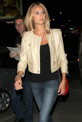 Tees by Tina Black Smooth Tank as Seen On Stacy Keibler