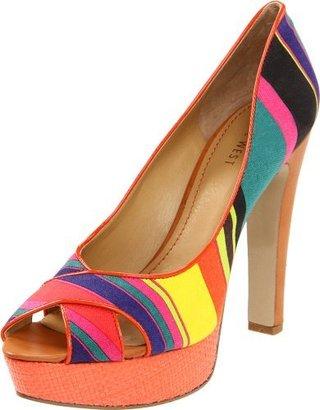 Nine West Women's Colourcode Peep-Toe...