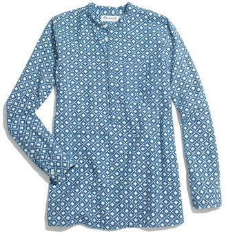 Madewell Chambray Floralstamp Popover