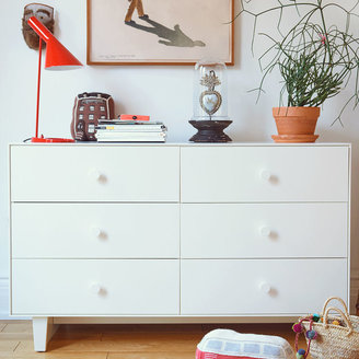 Oeuf Merlin Six-Drawer Dresser - Sparrow
