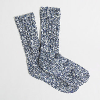 J.Crew Factory Factory festive marled camp socks
