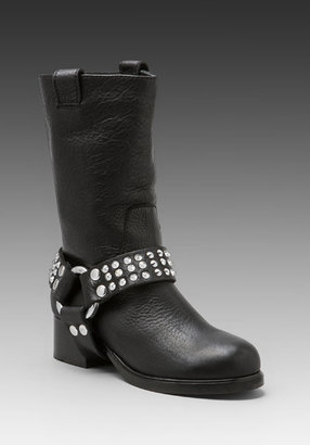 Zadig & Voltaire Roady Spike Stud Motorcycle Boot