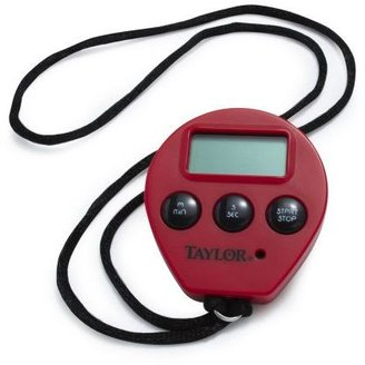 Sur La Table Taylor® Red Chef's Digital Timer and Stopwatch