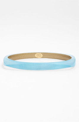 Alexis Bittar 'Lucite' Skinny Square Bangle Light Turquoise