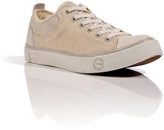 UGG Sugar Shearling Canvas Evera Sneakers