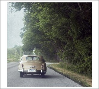 Pottery Barn Classic Road Car Framed Print by Cindy Taylor