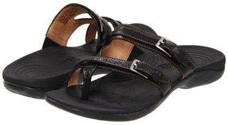 Orthaheel Spirit Sandal (Black) - Footwear