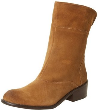 Diba Women's Gib Son Ankle Boot,Cognac/Distressed Suede,6 M US