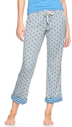 Gap Polka dot roll-up pants