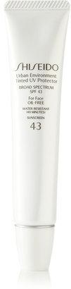 Shiseido - Sun Urban Environment Tinted Uv Protector Spf43 - Shade 3, 30ml $30 thestylecure.com