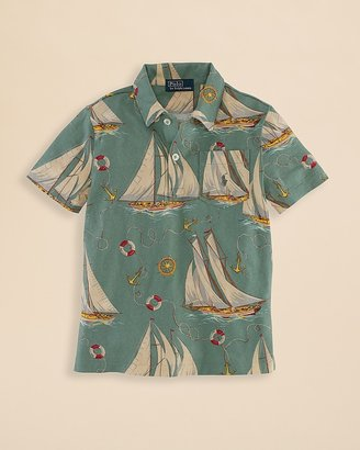 Ralph Lauren Boys' Sailboat Shirt - Sizes 2-7