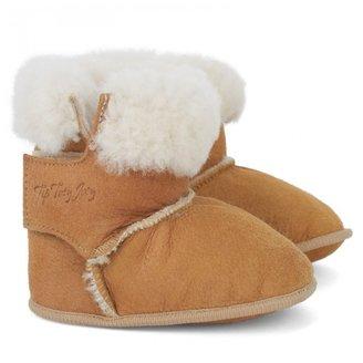 Tip Toey Joey Camel Sheepskin Booties