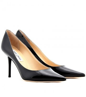Jimmy Choo Agnes patent leather pumps