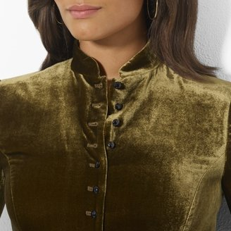 Ralph Lauren Long-Sleeved Fitted Jacket