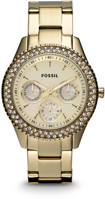 Fossil Stella Multifunction Gold-Tone Stainless Steel Watch