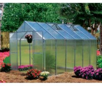 Riverstone Industries Riverstone Monticello Extruded Aluminum 8-Foot x 12-Foot Residential Greenhouse