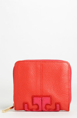 Tory Burch 'Stacked T' Compact Wallet