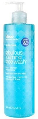 Bliss fabulous foaming face wash super-sized 15.5oz