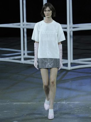 Alexander Wang Parental Advisory T-shirt