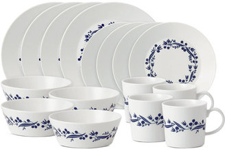 Royal Doulton Dinnerware, Fable Garland 16 Piece Set, Service for 4