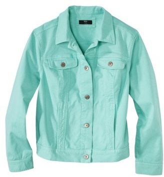 Mossimo Women's Plus-Size Long-Sleeve Denim Jacket - Assorted Colors