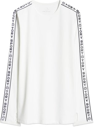 Tory Burch BANNER LONG-SLEEVE TOP