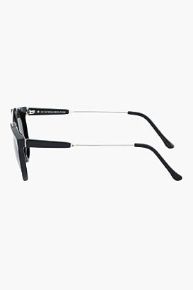 Super Black and silver Jaguar sunglasses