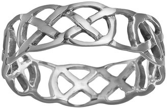 Celtic Sterling Silver Thumb Ring