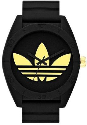 adidas 'Santiago XL' Silicone Strap Watch, 50mm