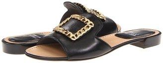 Stuart Weitzman Jacqui (Black Nappa) - Footwear