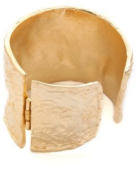 Kenneth Jay Lane Satin Textured Cuff