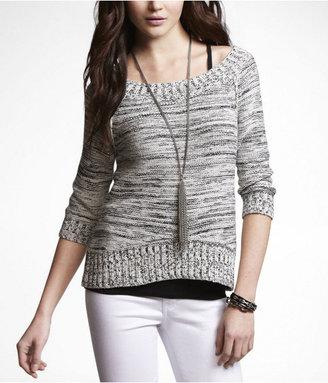 Express Marled Sweater