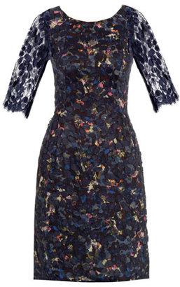 Erdem Leonie floral lace dress